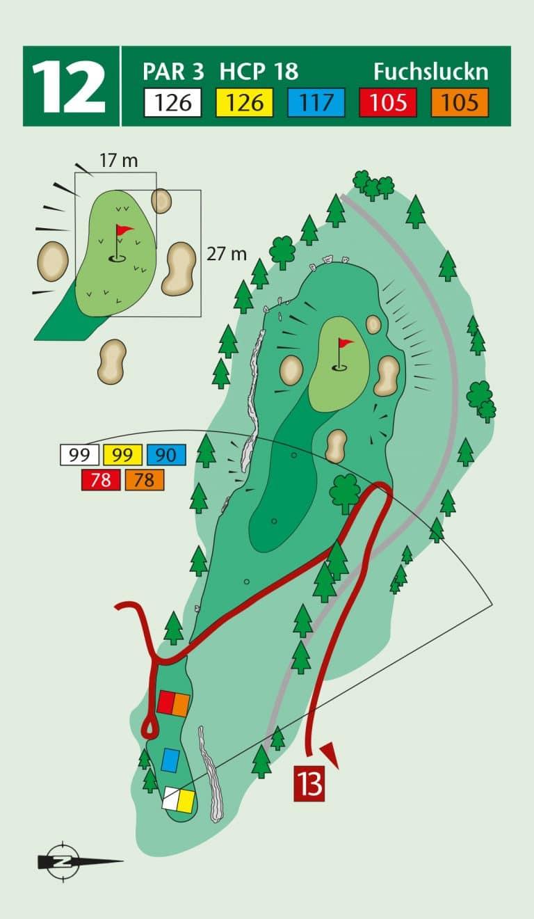 Bierdiebook Championship course Loch 12