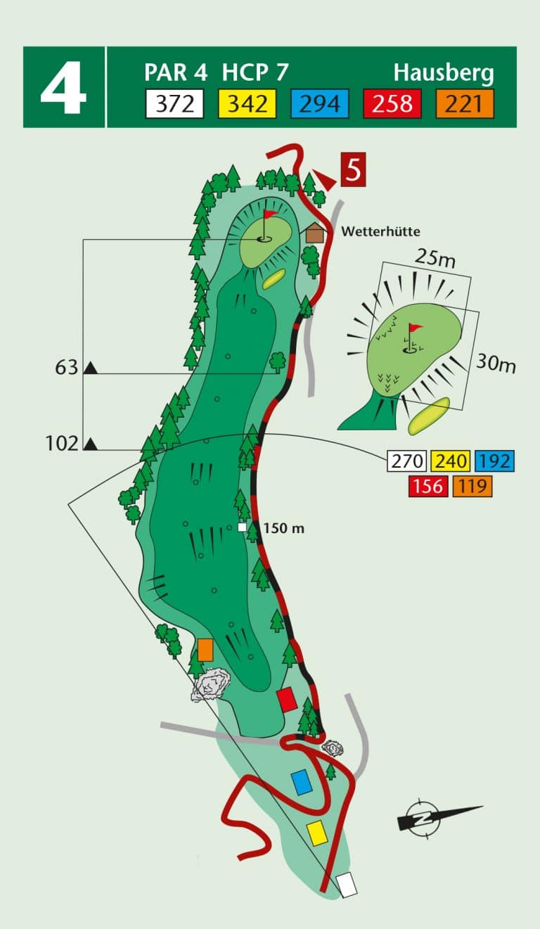 Bierdiebook Championship course Loch 4