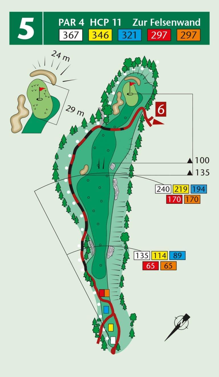 Bierdiebook Championship course Loch 5