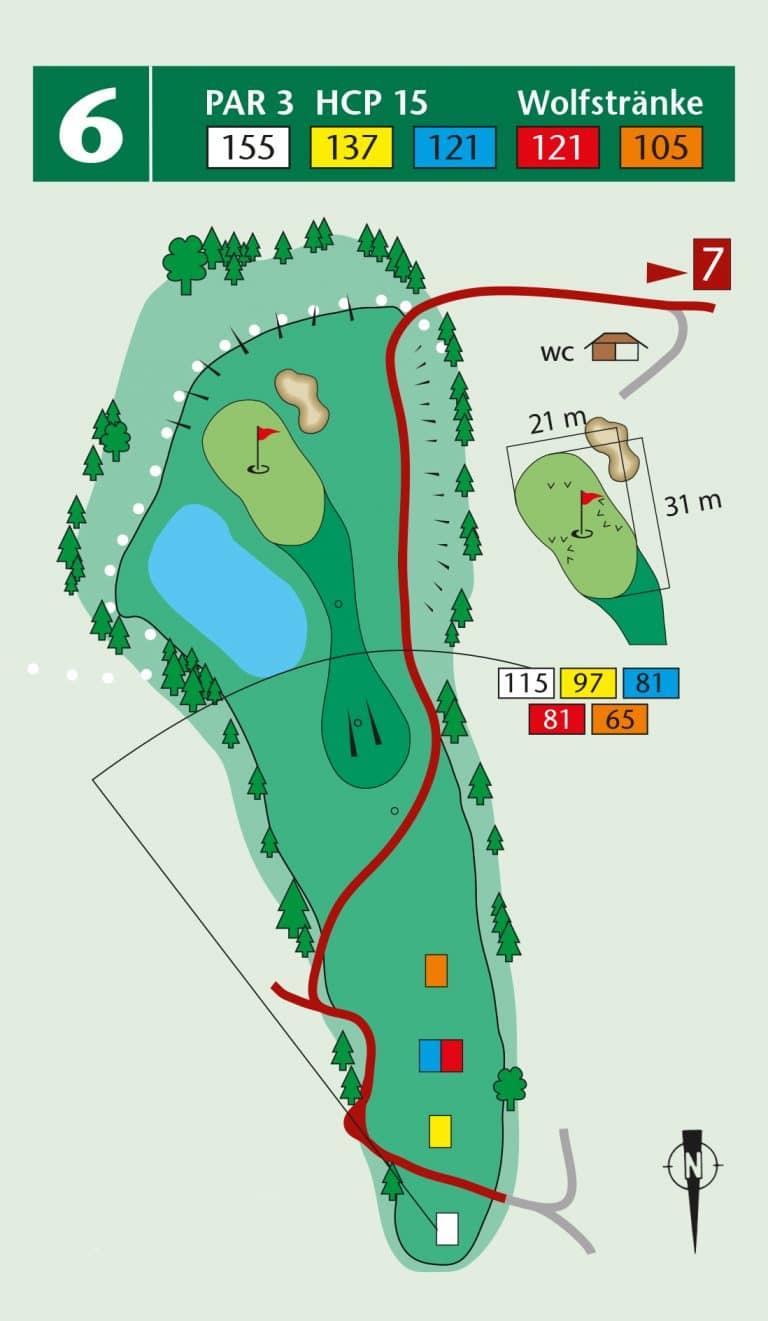 Bierdiebook Championship course Loch 6