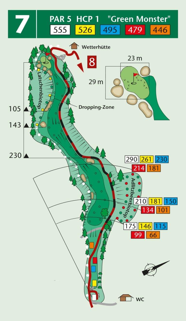 Bierdiebook Championship course Loch 7