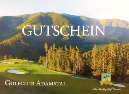Golfclub Adamstal Muster Gutschein
